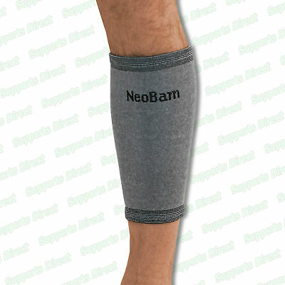 Bamboo Elastic Calf Compression Shin Splints Support Sleeve Brace Injury Pain