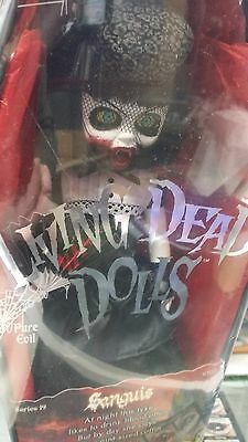 Living Dead Dolls series 19 Sanguis Factory Sealed Coffin vampire