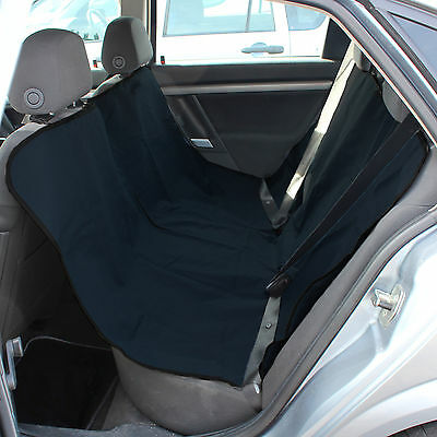 Black Rear Car Seat Dog/puppy/pet Dirt/mud Protector Back Cover/hammock/liner