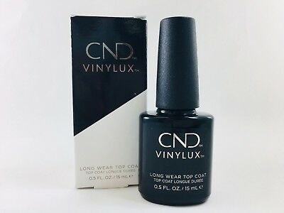 Authentic CND Vinylux Weekly Top Coat 0.5 oz/15 mL 7 Days Nail Lacquer Polish
