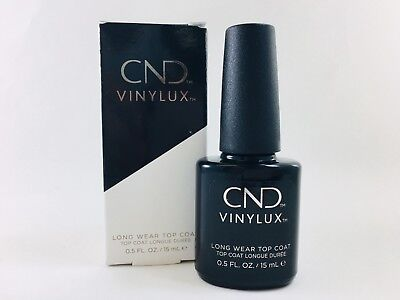 CND Vinylux Weekly Top Coat 0.5 oz/15 mL 7 Days Nail Lacquer Polish