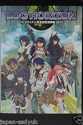 JAPAN Log Horizon Art book: Kanzen Setteishiryoushuu 2015
