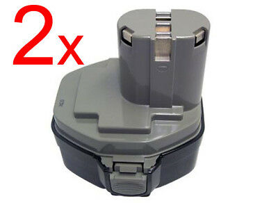 2x14.4V Replacement for makita 1433 1434 1435F battery