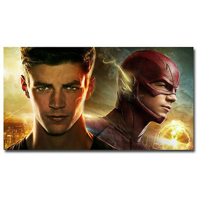 The Flash And Arrow TV Series Art Silk Wall Poster 13x24inch