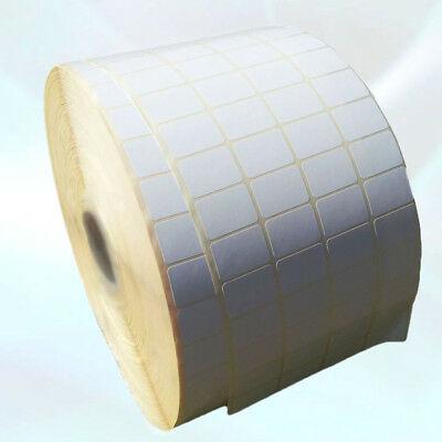 Blank White Self Adhesive Sticky Address Printer Labels Rolls 38X25mm 1.5x1inch