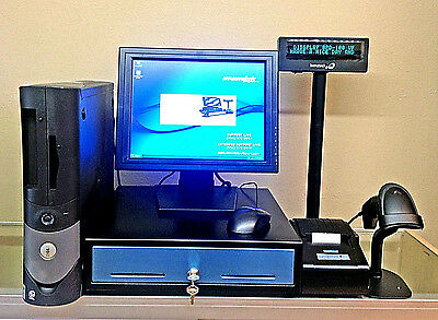 """Touchscreen 19"""" Retail Point of Sale System with Refurbished PC"""
