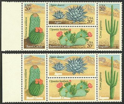 1945b- 20c Cactus - Litho Brown Omitted - 2001 APS Cert for Sheet