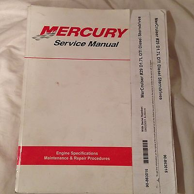 Mercury Service Manual
