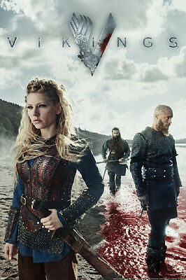 "Vikings Blood History Channel 24 x 36"" TV Poster"