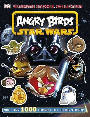 Angry Birds Star Wars Ultimate 1000 Sticker Collection Book (Paperback) New Book
