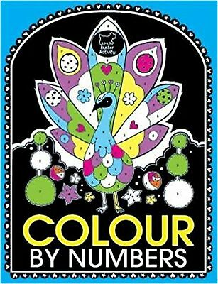 Colour by Numbers Book, New