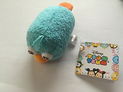 "disney store japan original perry tsum mini 3 1/2"" plush new with tag"