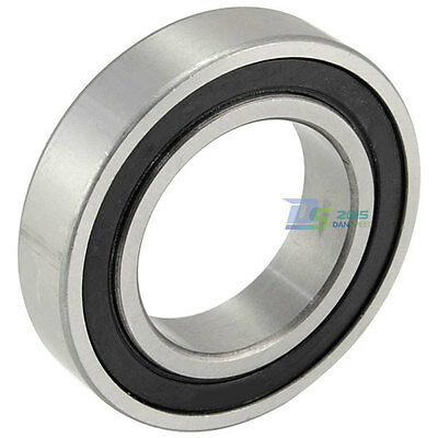 Premium 6208 RS 2RS Sealed Bearing Deep Groove Ball Bearings Steels 40x80x18mm