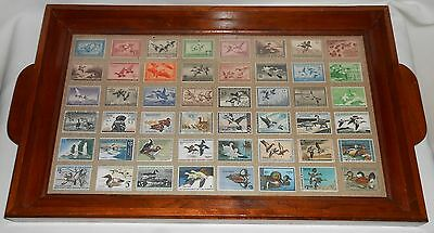 RARE 1935-1982 Migratory Bird Hunting Stamp SERVING TRAY US Dept of Interior
