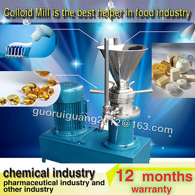 free shipping,cod-liver oil,security,cream,bee pollen grind colloid mill machine