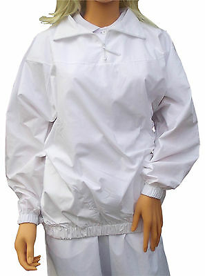 CATHEDRAL Showerproof 1/2 Zip Top Ladies Teflon Coated Light Poly/Cotton Bowls