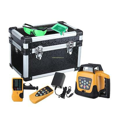 Green Beam Self-leveling Rotary Laser Level 360°Activity angle of remote control