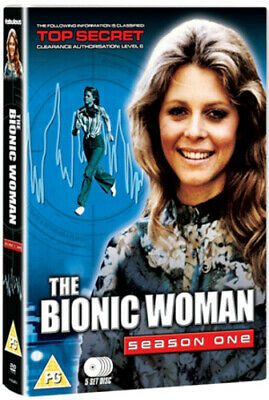The Bionic Woman: Series 1 DVD (2013) Lindsay Wagner cert PG 5 discs ***NEW***