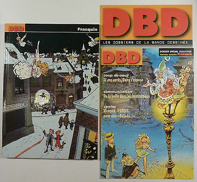 Franquin DBD n 1 Dossier spécial collector TBE