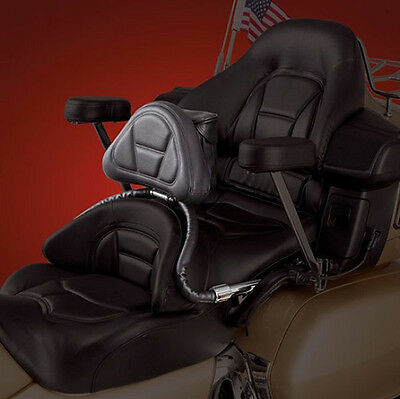 Driver Backrest for 2001-2017 Honda Goldwing GL1800 - Show Chrome (52-637)