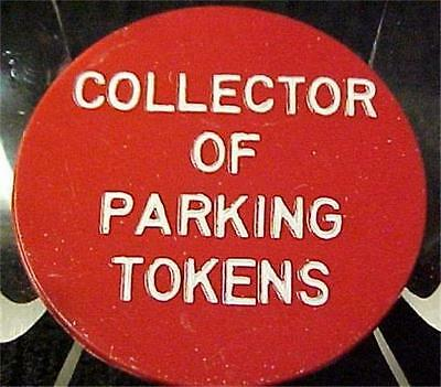Parking Tokens-Baltimore-G.fuld-Plastic Token = 2715C