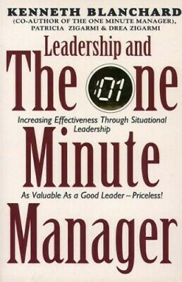 Leadership and the One Minute Manager by Zigarmi, Drea Paperback Book The Cheap
