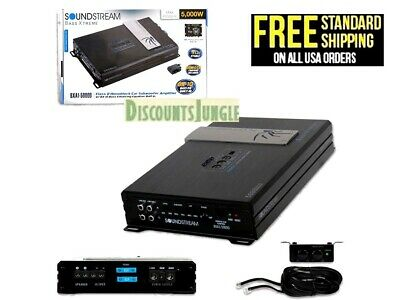 Soundstream BXA1-5000D 5000 Watts Mono Amplifier Built In BX-10 Epicenter
