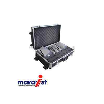 Marcrist Turbolite 11 Piece Dry Drilling Core Drill Kit In Carry Case T01.500.00