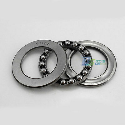 Thrust Ball Bearing 3 Part 51106 30x47x11mm Thrust Bearings 30/47/11mm