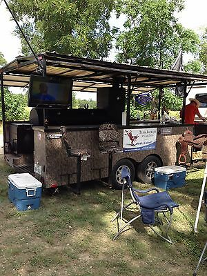 BBQ Pit on trailer - Entertainment Package