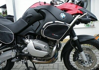 BMW 1200 GS Adventure Crash bar bags luggage panniers crash bars R1200GS