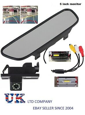 mercedes vito viano rear reverse parking camera kit rear view mirror monitor