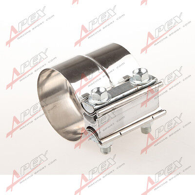 "2.25"" Stainless steel  Lap Joint Band Clamp Exhaust Clamp"