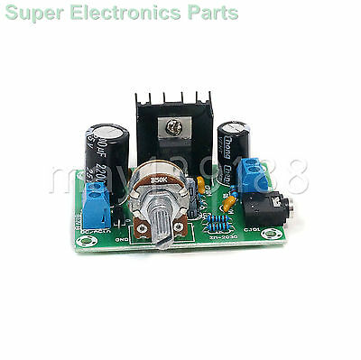 1 pcs TDA2030A TDA2030 Mono 15W 12V AC/DC Audio Amplifier Board One-channel