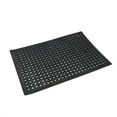 Rubber Safety Mat Large Kitchen / Bar / Wet Area 600x900mm