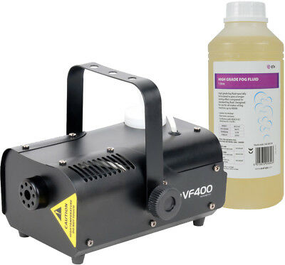 ADJ VF400 Fog Machine With 1 Litre Fluid + remote control Smoke party DJ
