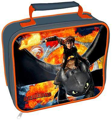 How to Train Your Dragon Lunch Bag/Box | Dreamworks' Dragons: Riders of Berk