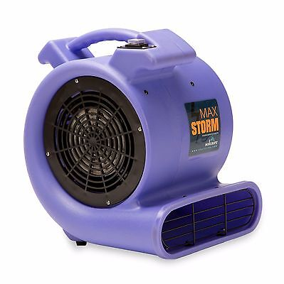Air Mover Blower 115V Soleaire® Max Storm 2550 CFM Purple