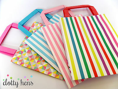 Childrens Birthday Party Paper Gift Bags With Handles - Favours For Wedding Hen
