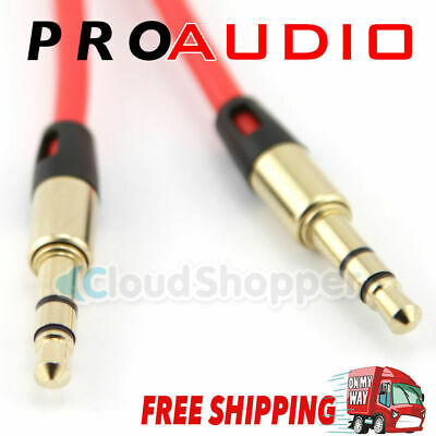 AUX Cable 3.5mm Stereo Audio Input Extension Male to Male Auxiliary Car Cord NEW