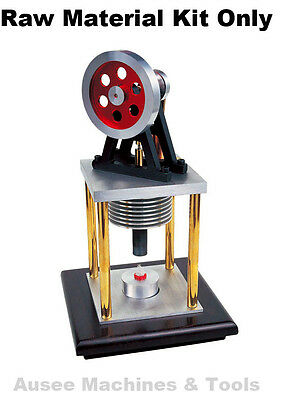 SIEG Stirling Engine Model Type 3 ( Raw Material Kit Only )