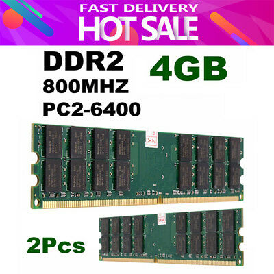 8GB 2X4GB DDR2-800MHz PC2-6400 240PIN DIMM For AMD CPU Motherboard Memory 8G NEW