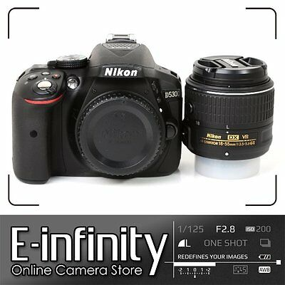 SALE Nikon D5300 Digital SLR Camera Black + AF-S 18-55mm f/3.5-5.6G VR Lens Kit