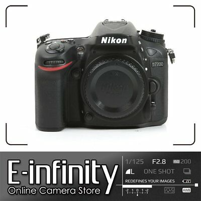 SALE Nikon D7200 Digital SLR Camera Body Only 24.2 MP Kit Box