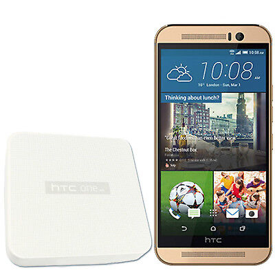 BNIB HTC One M9 32GB Gold On Gold Factory Unlocked 4G LTE 3G 2G GSM OEM New