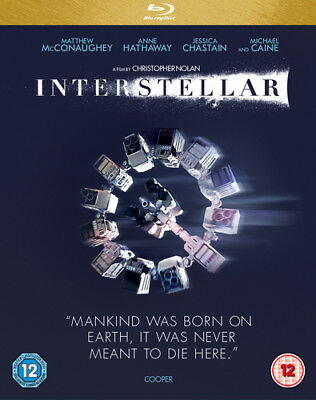 Interstellar Blu-Ray (2015) Matthew McConaughey ***NEW***