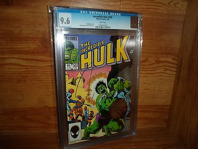 The Incredible Hulk # 303 Jan 1985 CGC 9.6 ONLY 17 GRADED IN WORLD BY CGC
