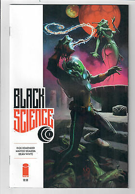 BLACK SCIENCE #1 - NM - First print variant by Andrew Robinson!