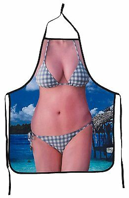 Creative Sexy Hot Bikini Beach California Girl Funny Cooking Apron