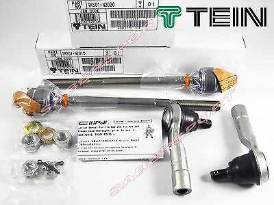 """In Stock"" TEIN Tie Rods +Rod Ends for 1989-2003 Nissan 240SX Silvia S13 S14 S15"